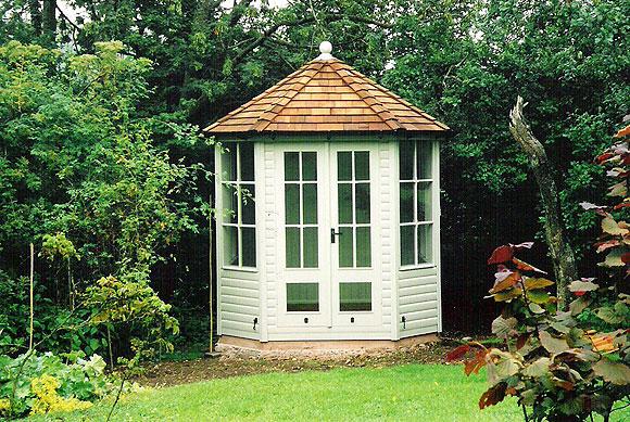 Morton garden buildings ltd cumbria gazebos garden for Garden summer house designs