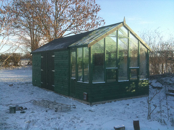 garden shed with greenhouse attached - Garden Sheds With Greenhouse