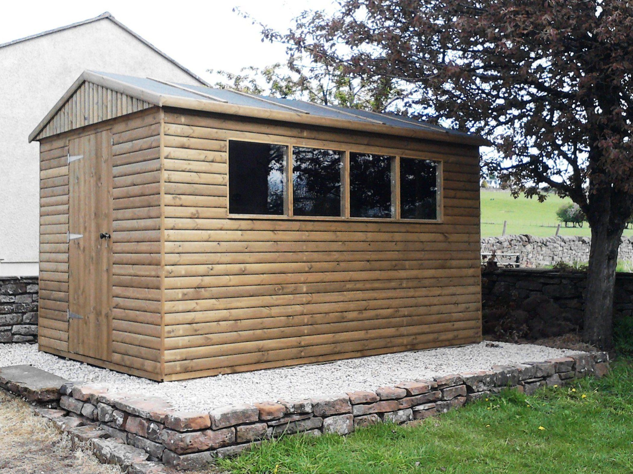 Morton garden buildings ltd cumbria gazebos garden for Which garden shed