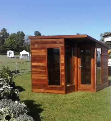Morton garden buildings ltd cumbria gazebos garden for Cedar garden office