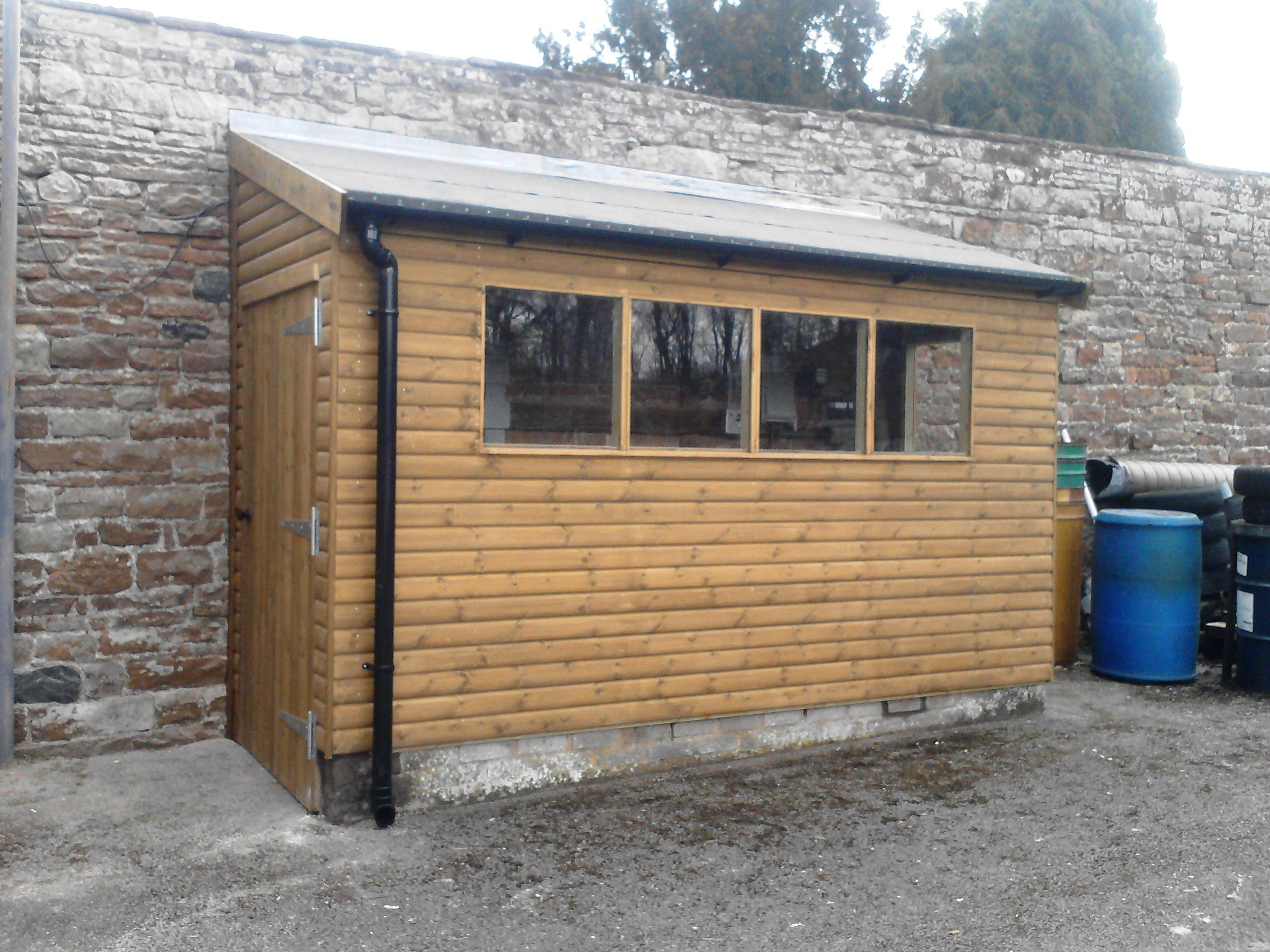 Morton garden buildings ltd cumbria gazebos garden offices greehouses garages - Garden sheds with lean to ...
