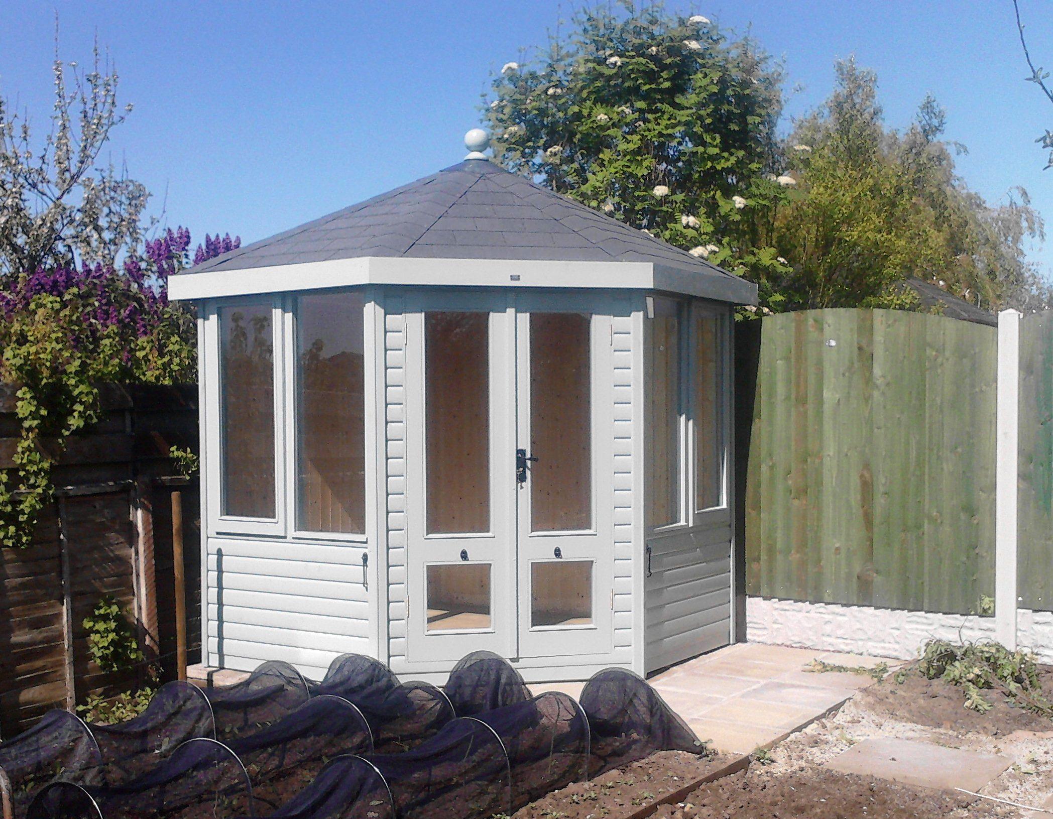 Morton garden buildings ltd cumbria gazebos garden for Summer house furniture ideas