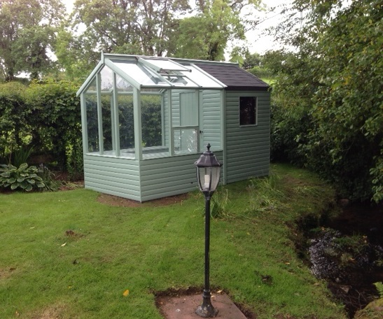 barracuda shed greenhouse - Garden Sheds With Greenhouse