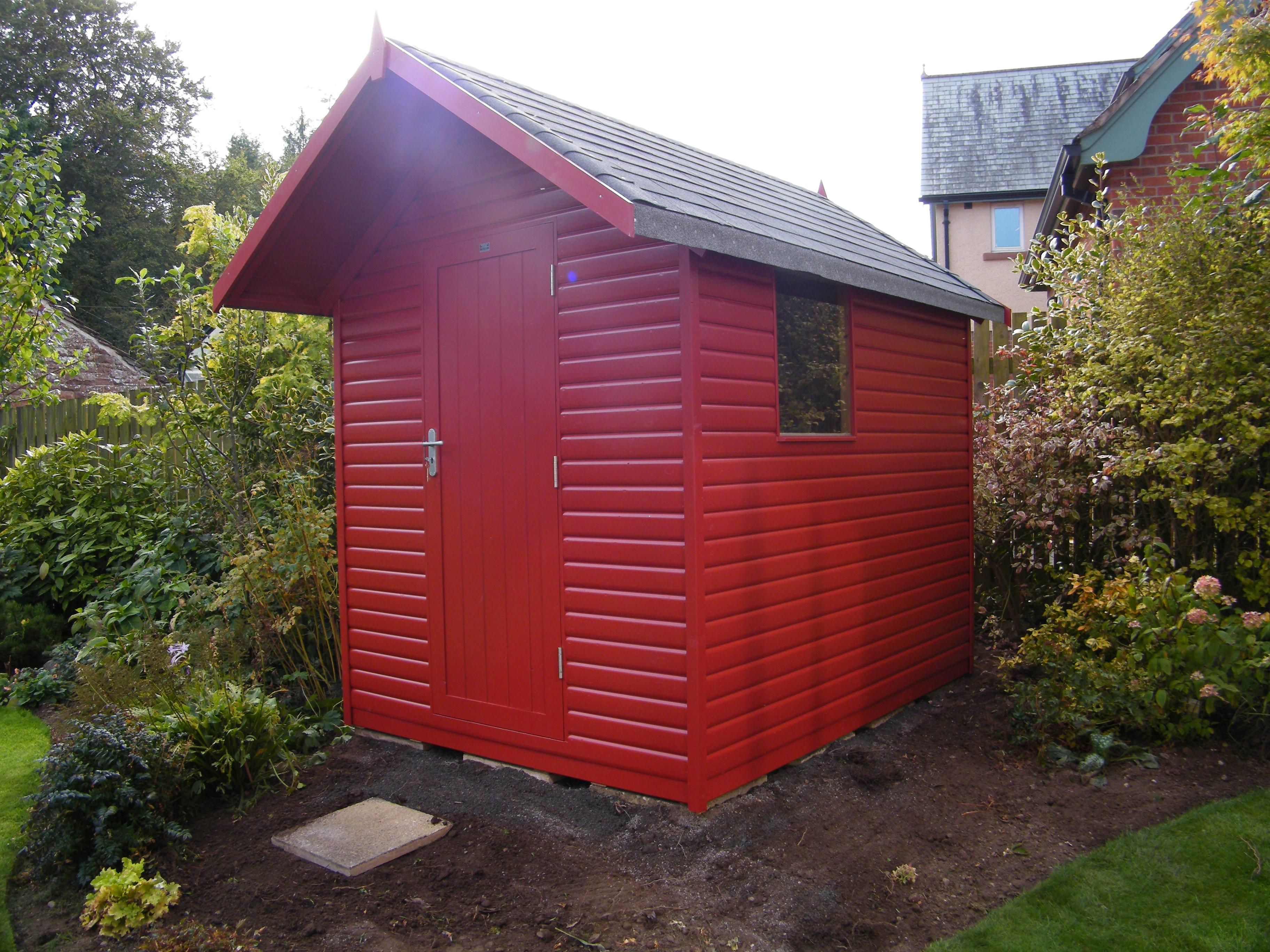 Morton garden buildings ltd cumbria gazebos garden for Quality garden sheds